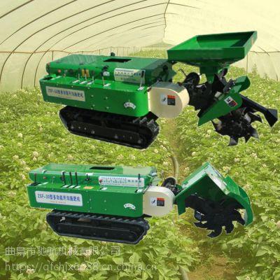 亚博国际真实吗机械 厂家直销履带旋耕机多功能履带式果园开沟施肥机 大马力果园施肥回填机