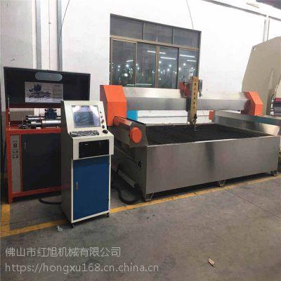 佛山厂家定做全自动数控水刀切割机 多功能三轴玻璃水切割机