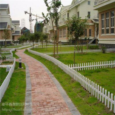 草坪围栏 路边花池围栏 城市绿化PVC护栏