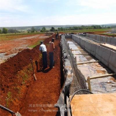 山西防汛铅丝笼厂家护坡铅丝石笼网生产厂家环标
