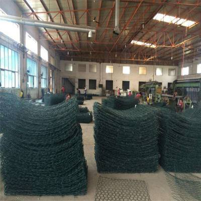 锌铝合金石笼网 pvc包塑丝石笼网 格宾网多少钱