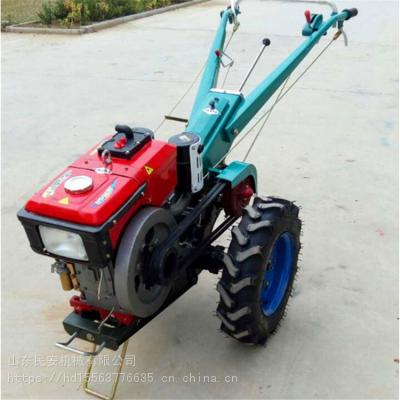 民安 手扶拖拉机 手扶带农用翻地耕地机 多功能开沟犁地施肥播种机