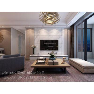 合肥山水装饰设计作品凯旋门110平方现代风格方案报价效果图分享0551-65196123
