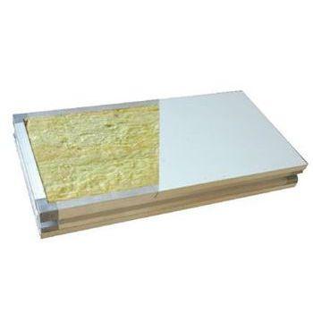 岩棉彩钢手工板-岩棉手工夹芯板-大定净化彩钢板