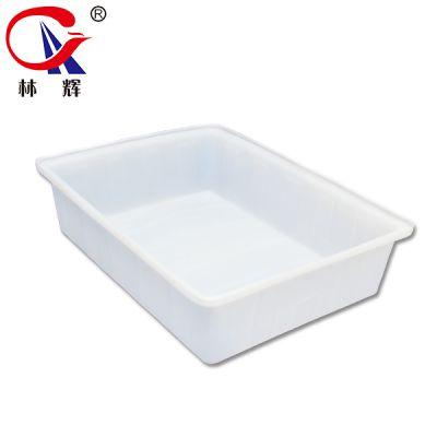 厂家直销200L牛筋料塑料水箱 加厚白色收碗洗菜盆 江苏林辉塑料方盆