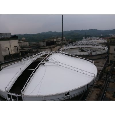 周口污水处理厂膜结构加盖施工不二之选