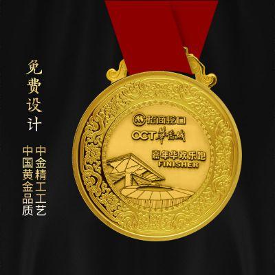 奖牌定制定做金属奖牌定做厂家奖牌制作工厂
