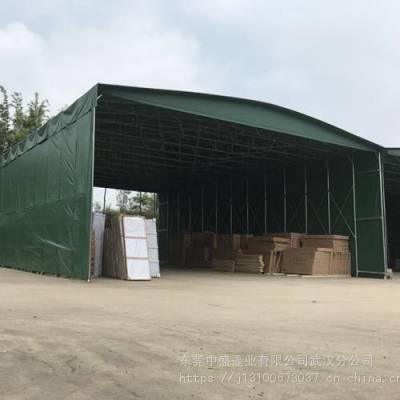 苏州户外移动推拉篷大排档帐篷烧烤蓬大型仓储物流蓬按需定制