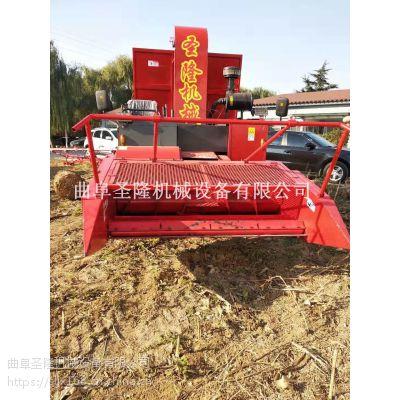 金寨县长秸杆揉丝回收机厂家 自走式青贮机供应 圣隆牌青储机视频