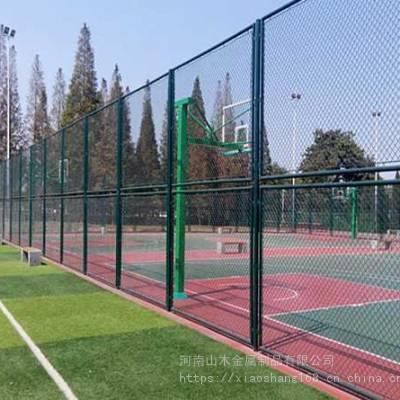 供应钩花浸塑体育围网美观耐用免费测量设计