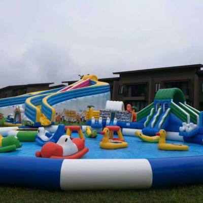 新疆夏季大型室外水上乐园充气漂浮物开始选购啦