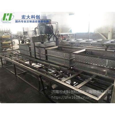 哪有卖全自动豆腐皮机|大型豆腐皮机生产线|时产400斤左右产品 宏大