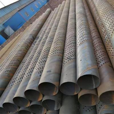600mm过滤管施工降水井钢花管,螺旋钢管打井滤管/花眼管