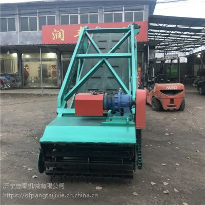 青贮取料机动力来源 扒草机加厚传送带上料