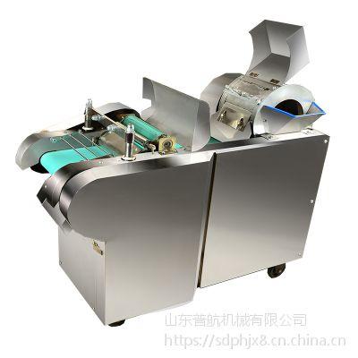 普航不锈钢土豆切丝机 小吃店炒饼切条机 白菜酸菜泡椒洋葱切段机