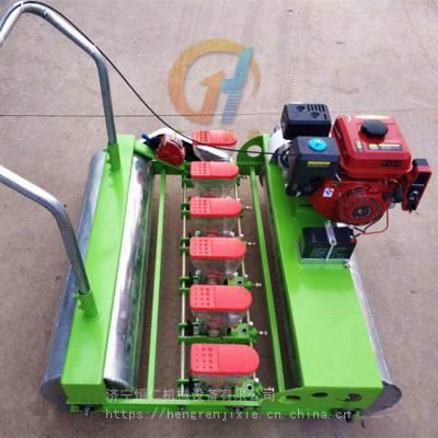 定制青菜播种机 小型谷子精播机 多功能小颗粒种子播种机报价