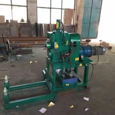 油桶切盖机 废旧油桶切盖机 铁桶切身压平一体加工机器