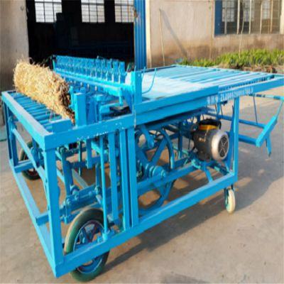 草帘编织机 织草帘机器 草帘机1-2米可以调节大棚草帘机