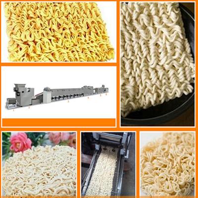 江苏小型方便面生产线设备制造厂家方便面成型蒸煮油炸成套设备