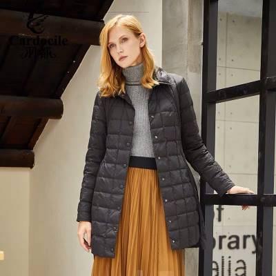 工厂直销大码女装妞臣羽绒服女装品牌折扣女装货源走份批发