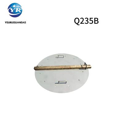 友瑞牌储罐人孔 屋面检修保温人孔厂家 φ800 Q235材质