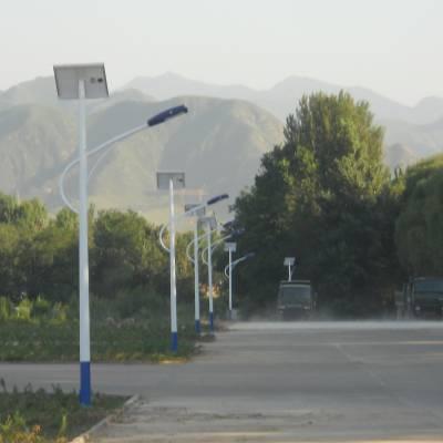 定制 {太阳能路灯}LED{新农村路灯}一体化户外灯6米30W {路灯}厂家直销