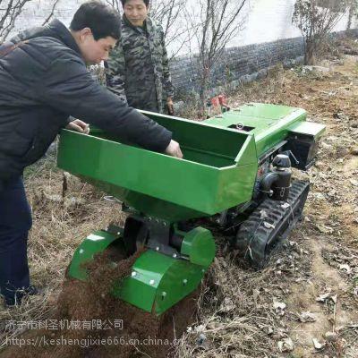 柴油动力果园开沟施肥机 柴油动力果园开沟施肥机 科圣机械