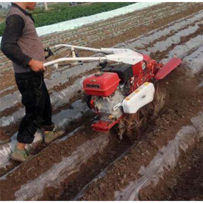 小型汽油旋耕机 家用便携式开沟培土启垄机 一机多用旋耕机