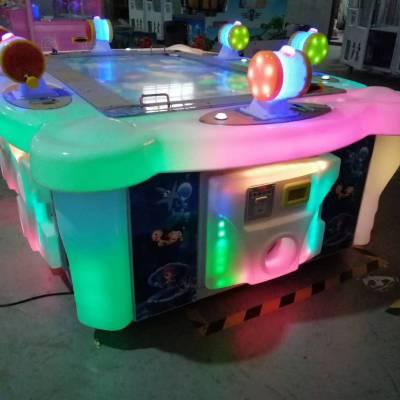 胖达熊电玩城游乐设备 六人钓鱼机儿童电玩设备