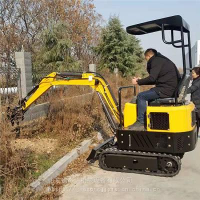 履带式微型挖土机 小型挖掘机 果园大棚工程小挖机