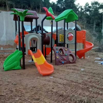 供应湖南游乐场所AS-770组合滑梯 儿童滑梯 华容幼儿园滑梯