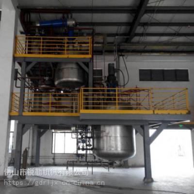 广东3000L不锈钢反应釜 电加热平台搅拌釜