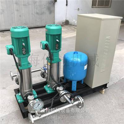 wilo威乐MVI1605/6不锈钢4KW变频供水设备原理
