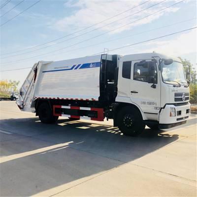 厂家供应东风压缩垃圾车环卫垃圾车市政垃圾车