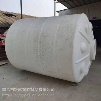 南昌食品级8吨PE立式平底圆形消防工业蓄水箱储油罐水塔水箱水柜江西8000升