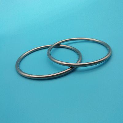东莞厂家无缝焊接不锈钢D扣 圆环 方扣4mm箱包皮包配件直销