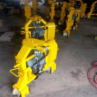 钢轨搬运车 手动拉运钢轨机 钢轨多功能运轨器 拉运钢轨车