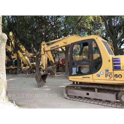精品小松60二手挖掘机|厂家直销|二手挖掘机市场价格优惠|-上海驰工