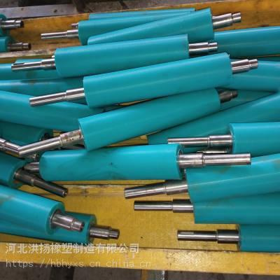 洪扬@耐高温硅胶包胶辊定制 橡胶胶辊厂家 耐油橡胶包胶辊