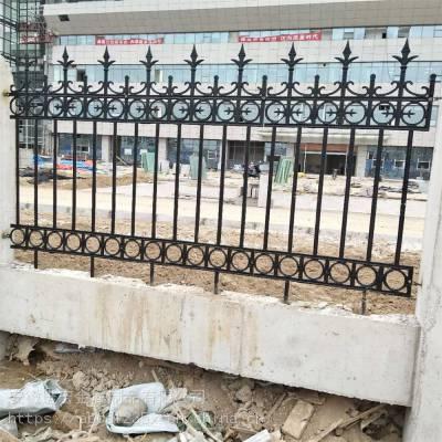 铁艺锌钢护栏围墙栅栏庭院厂区别墅小区栏杆院墙隔离栏铸铁围栏杆