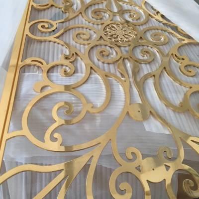苏州创意设计款铜艺浮雕屏风价格