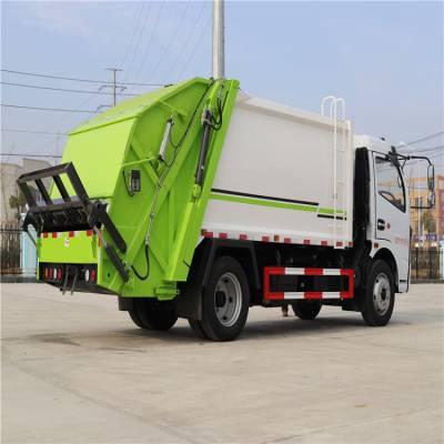 2020款国六侧装压缩式蓝牌垃圾车 国六压缩式垃圾车排名
