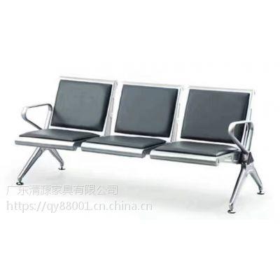不锈钢排椅地址*加厚三人座不锈钢椅子*公共场所三人椅