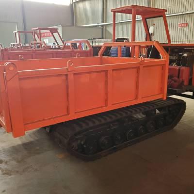 履带式运输车生产厂家,农用工程用履带式爬山虎,手扶式座驾式