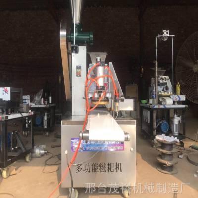 全自动气动式馅饼机 商用新型拍饼机 多功能糍粑成型机