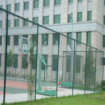围墙顶部防盗网 兴来体育场勾花网规格 护栏勾花网价格