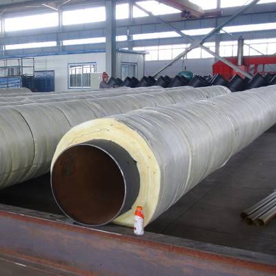 蒸汽输送管道 钢套钢蒸气保温管 钢套钢直埋保温管厂家