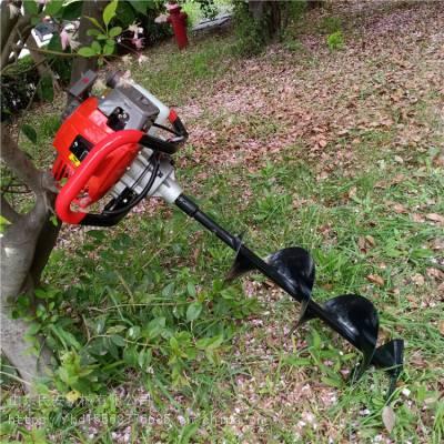 民安 挖坑机 单人手推式植树地钻机 汽油手提式螺旋钻眼机