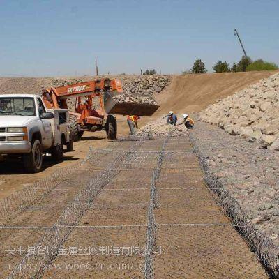 厂家供应高尔凡石笼网 边坡支护网 电镀铁丝石笼网箱