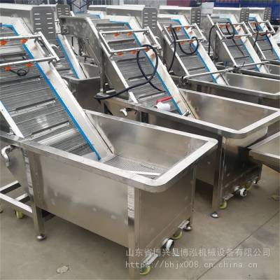 厂家直销果蔬清洗机 大枣气泡清洗机 利用气泡清洗机高效快捷